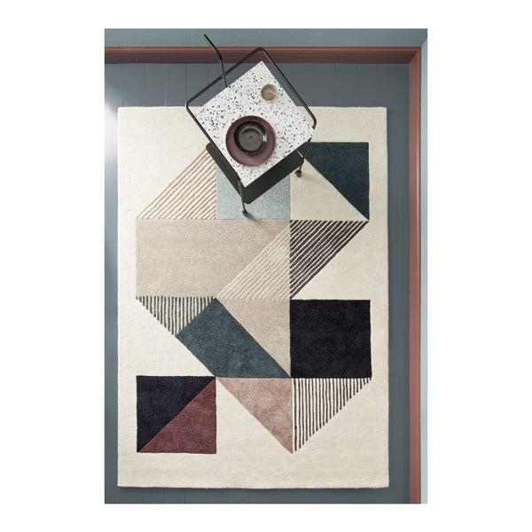 Vlněný koberec Mikill Mixed, 140x200 cm