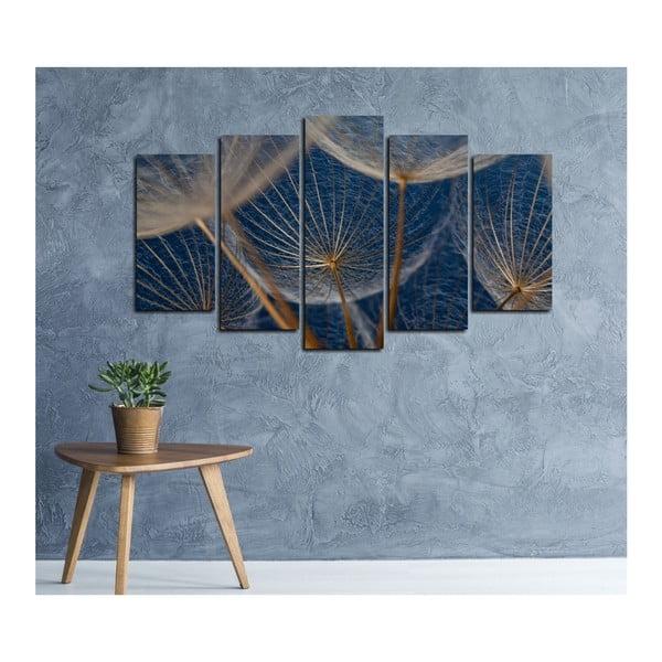 Tablou din mai multe piese Insigne Yves, 102 x 60 cm