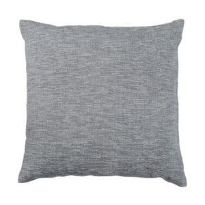 Antracitově šedý polštář Walra Karla, 45 x 45 cm