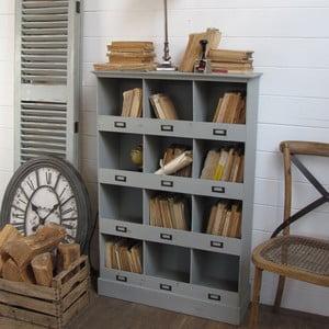 Skříňka Office Shabby Grey