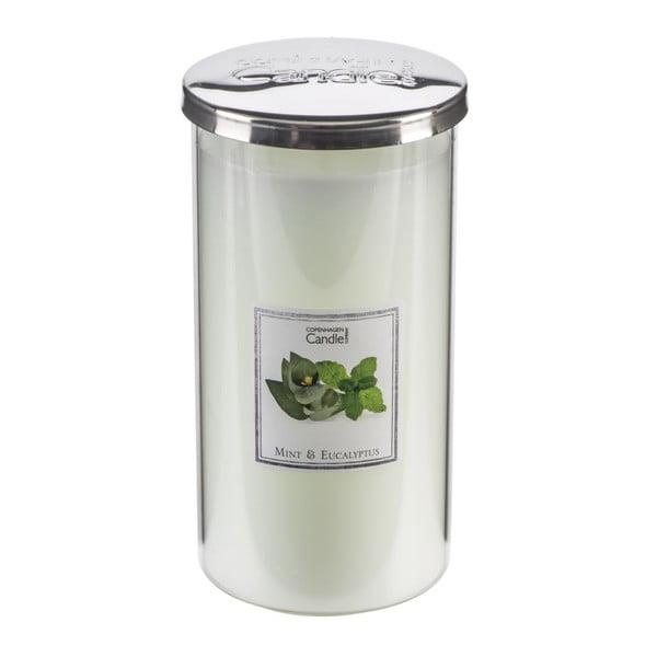 Aroma svíčka Mint & Eucalyptus Talll, doba hoření 70 hodin