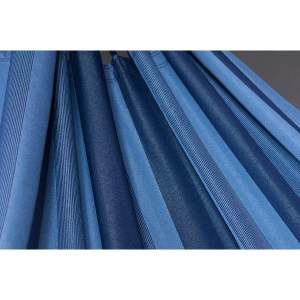 Houpací síť Aventura až pro dva, modrá