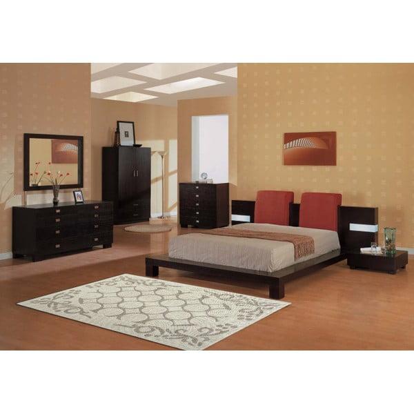 Krémový bavlněný koberec Floorist Rija, 100x200cm