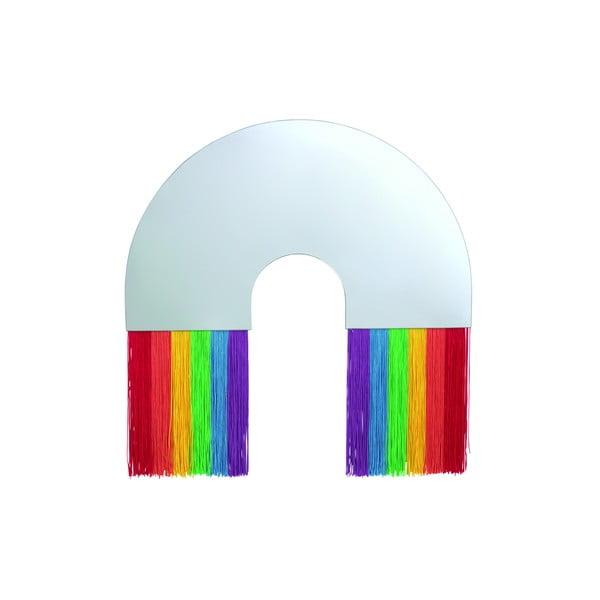 Oglindă de perete DOIY Rainbow, 48 x 50 cm