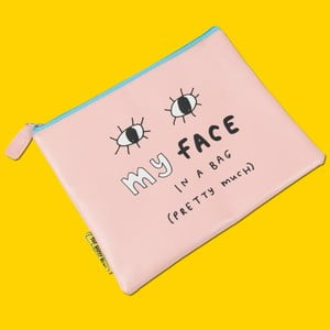 Kosmetická taštička / peněženka Happy News My Face In A Bag