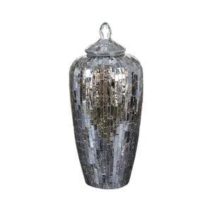 Vas decorativ din oglindă și mozaic Santiago Pons