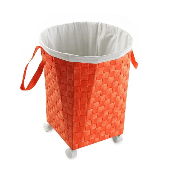 Úložný koš na kolečkách Ruedas, oranžový