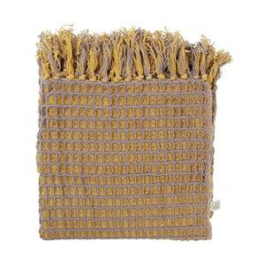 Pléd Magatha Mustard, 130x180 cm