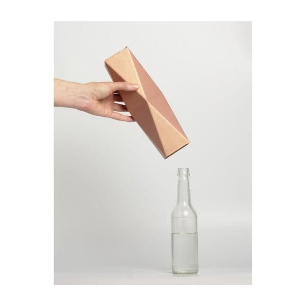 Skládací origami váza SNUG.Copper