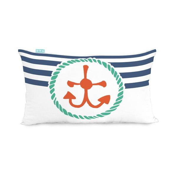Bavlněný oboustranný povlak na polštář Moshi Moshi Ahoy There, 50x30cm