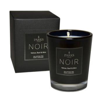 Lumânare parfumată Parks Candles London Noir, aromă de mentă și busuioc, durată ardere 22 ore imagine