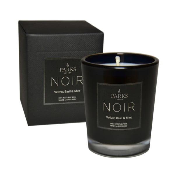 Lumânare parfumată Parks Candles London Noir, aromă de mentă și busuioc, durată ardere 22 ore