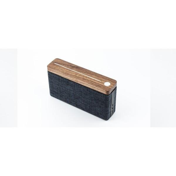 Brązowo-czarny głośnik bluetooth Gingko Hifi
