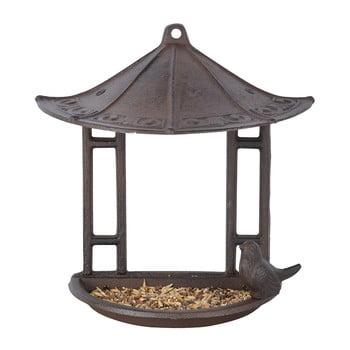 Hrănitoare semicirculară pentru păsări Esschert Design, înălțime 24,4 cm imagine