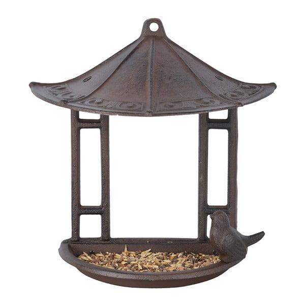 Półokrągły wiszący karmnik dla ptaków Esschert Design, wys. 24,4 cm