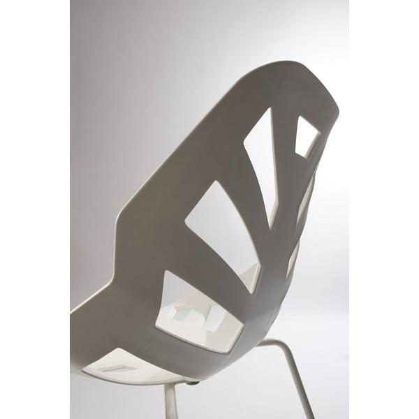 Šedá židle Ninja, pavoukové nohy