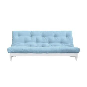 Canapea extensibilă Karup Design Fresh White/Light Blue de la Karup Design