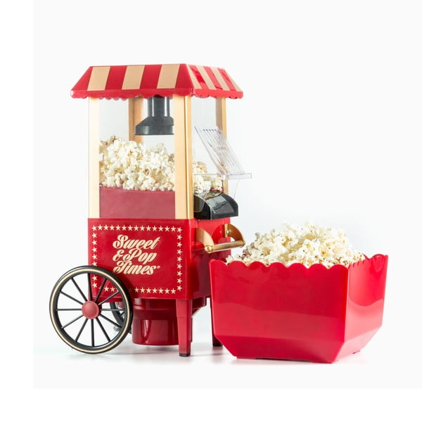 Czerwona maszyna do popcornu InnovaGoods Popcorn Maker