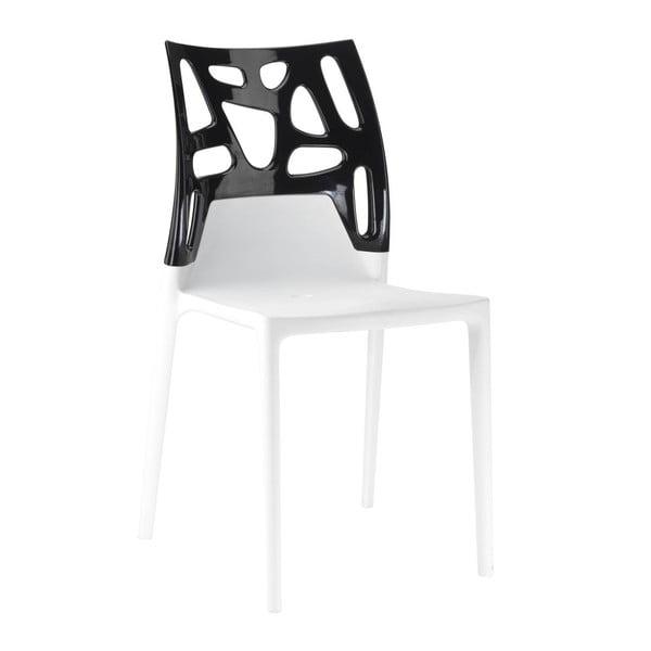 Židle Ego Rock, white/black