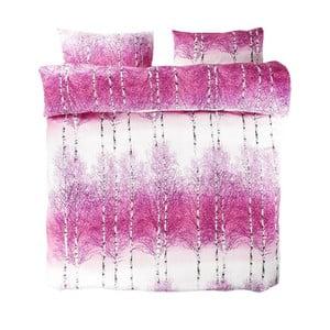 Povlečení Pink Double, 200x200 cm + 50x75 cm