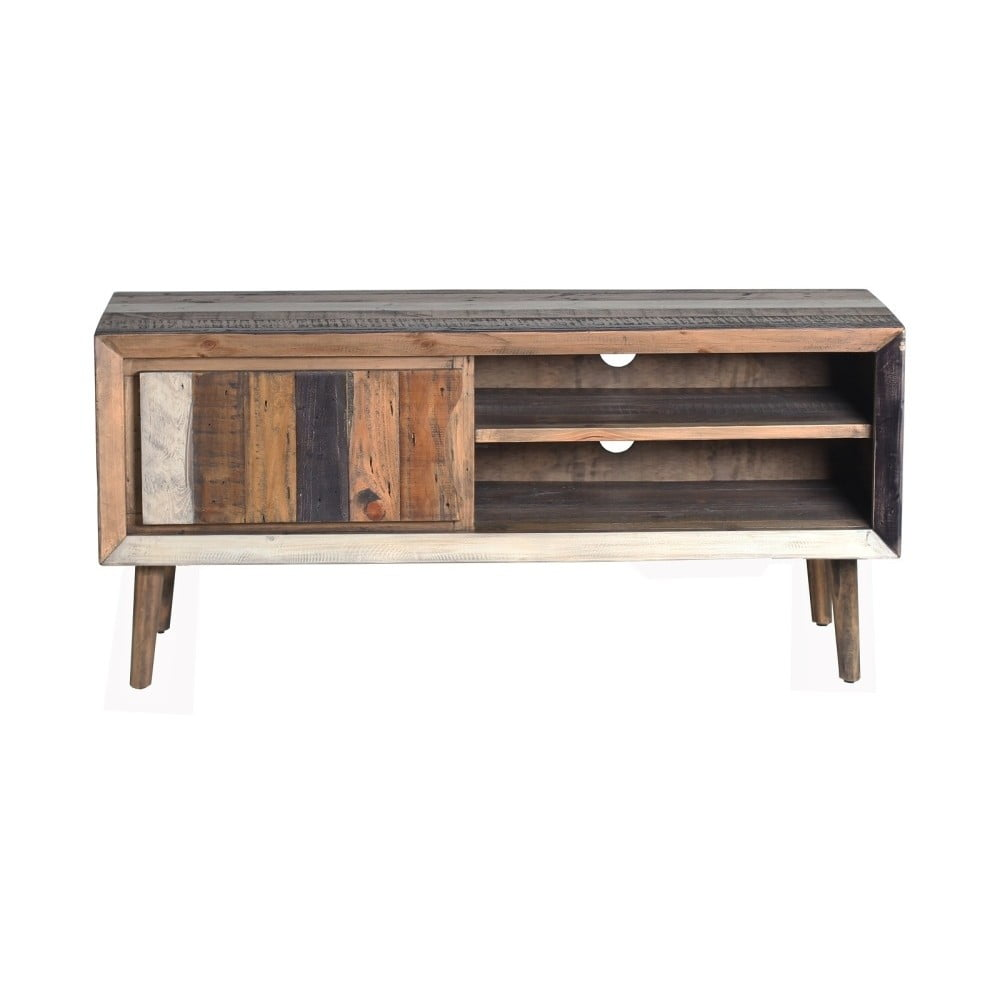 TV stolek z akátového dřeva SOB Cairo