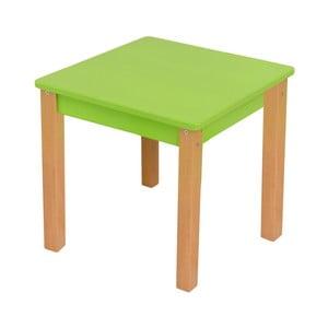 Zelený dětský stolek Mobi furniture Mario
