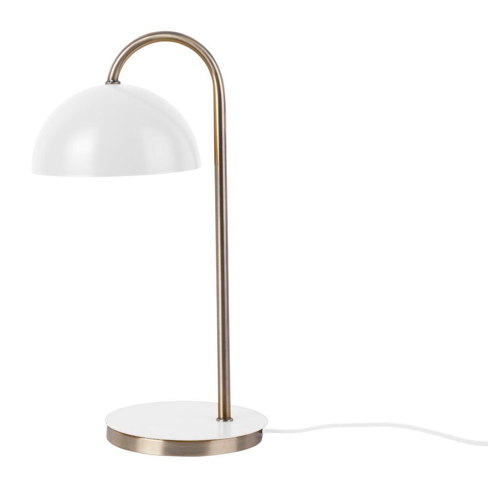 Stolní lampa v matné bílé barvě Leitmotiv Decova