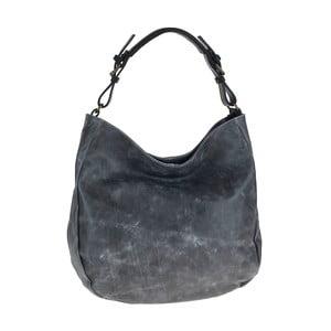 Šedá kožená kabelka Tina Panicucci Prema