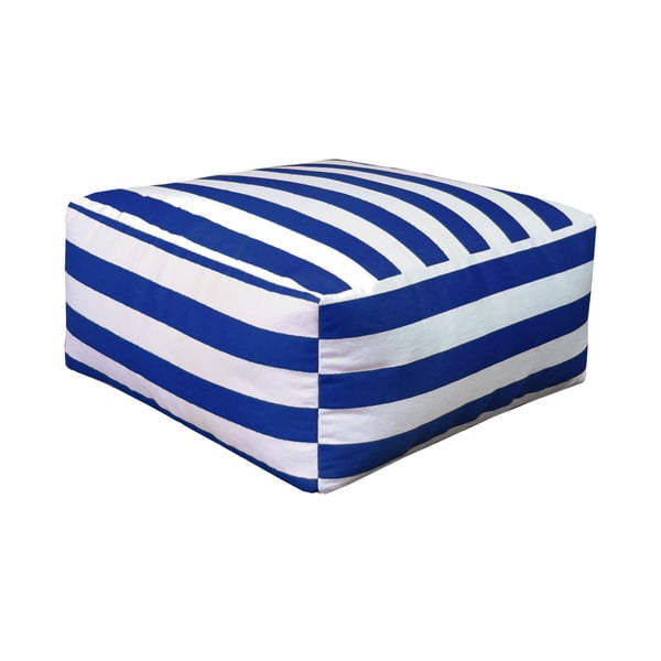 Puf Beach Blue Striped