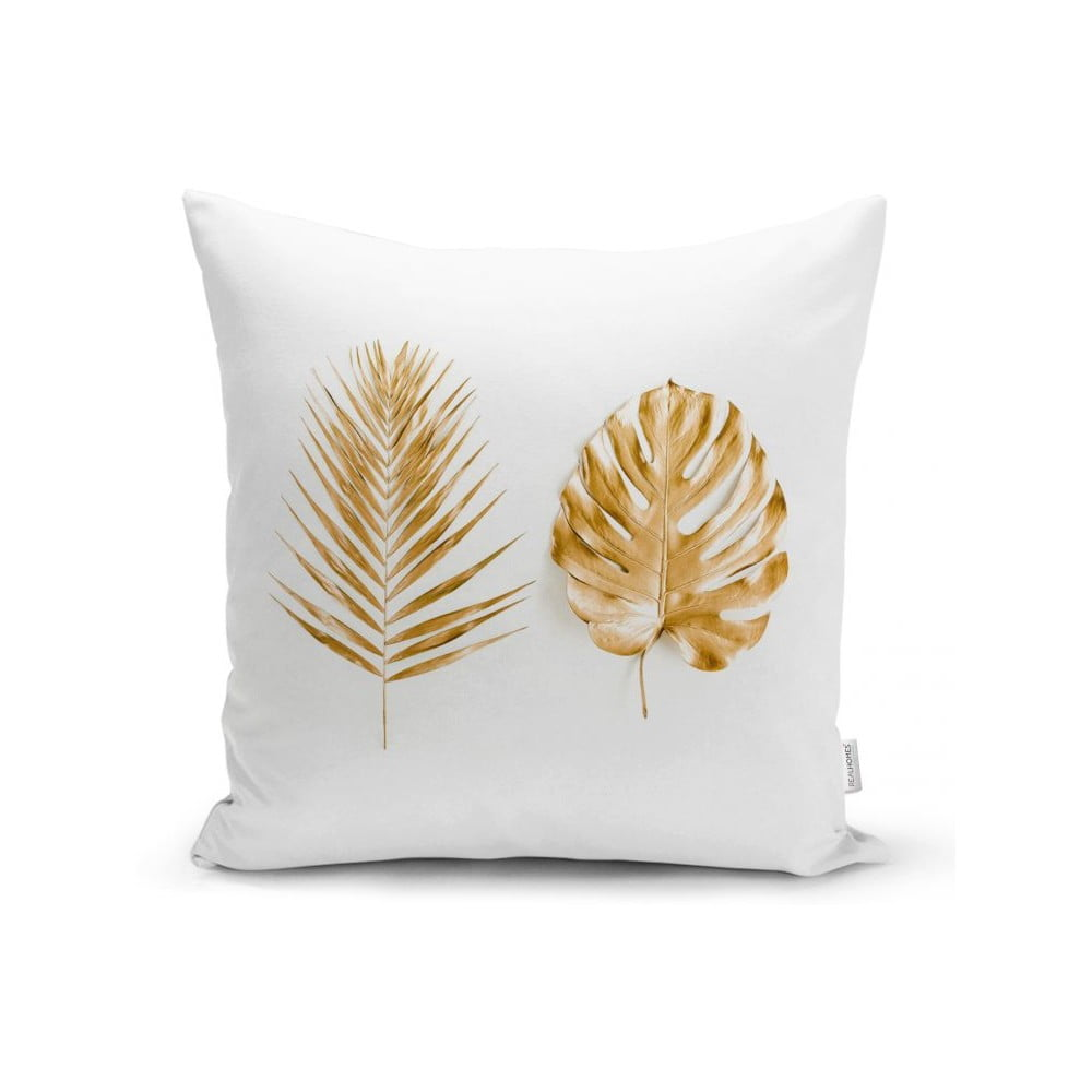 Povlak na polštář Minimalist Cushion Covers Golden Leafes, 45 x 45 cm