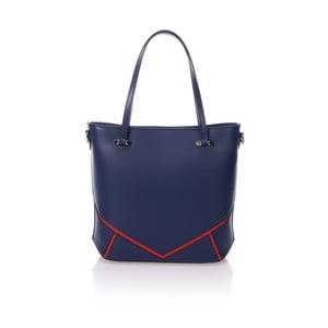 Modrá kožená kabelka Markese Loyd