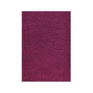 Koberec Super Shaggy 80x150 cm s 5 cm dlouhým vlasem, fialový