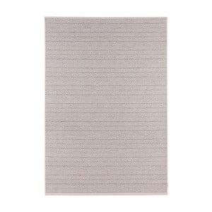 Šedý koberec vhodný do interiéru i exteriéru Bougari Runna, 160x230cm