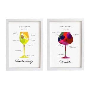 Dva plakáty Wine Anathomy