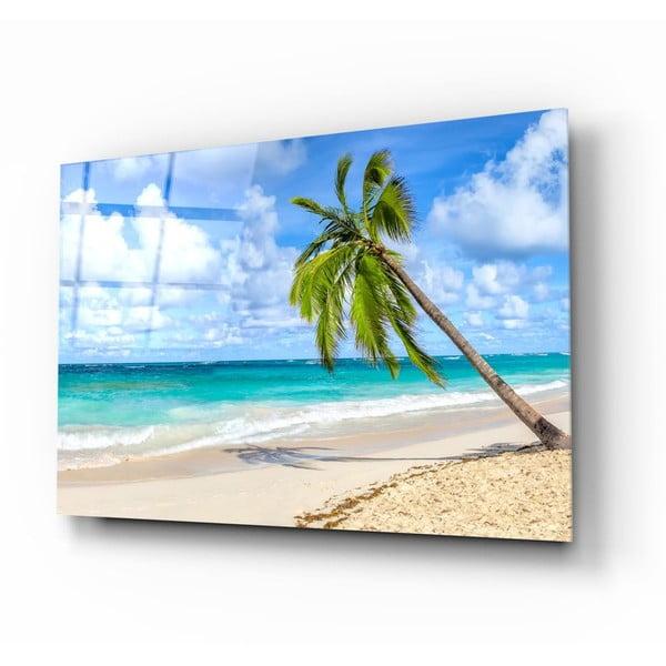Beach üvegezett kép - Insigne