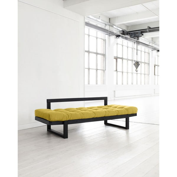 Pohovka Karup Edge Black/Amarillo