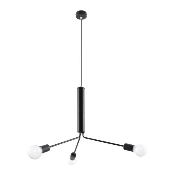 Černé stropní svítidlo Nice Lamps Donato 3D