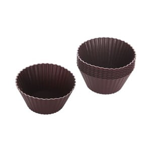 Formičky na muffiny 8ks, hnědé