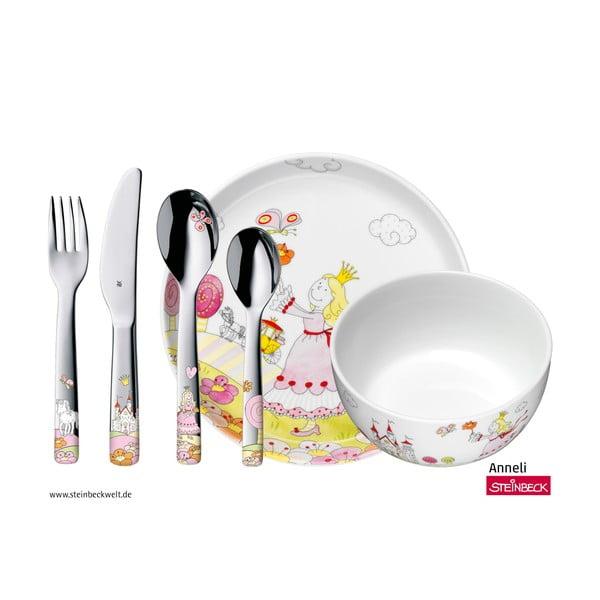 Anneli gyerek étkészlet, evőeszközökkel - WMF