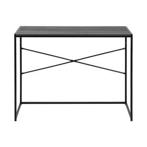 Černý konzolový stůl Actona Seaford