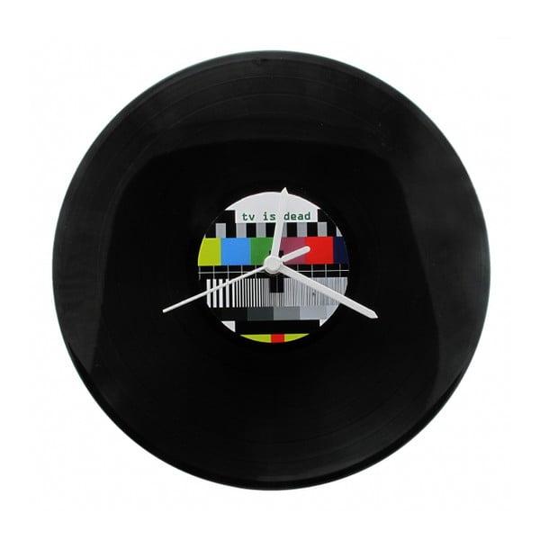 Vinylové hodiny TV Is Dead