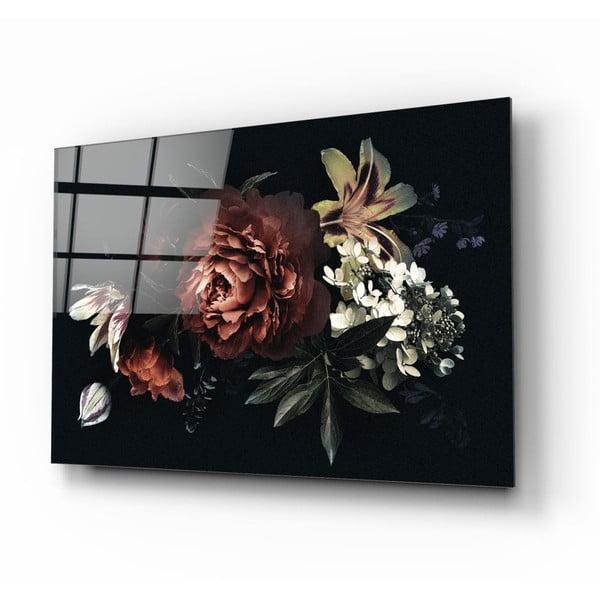 Tablou din sticlă Insigne Bouquet