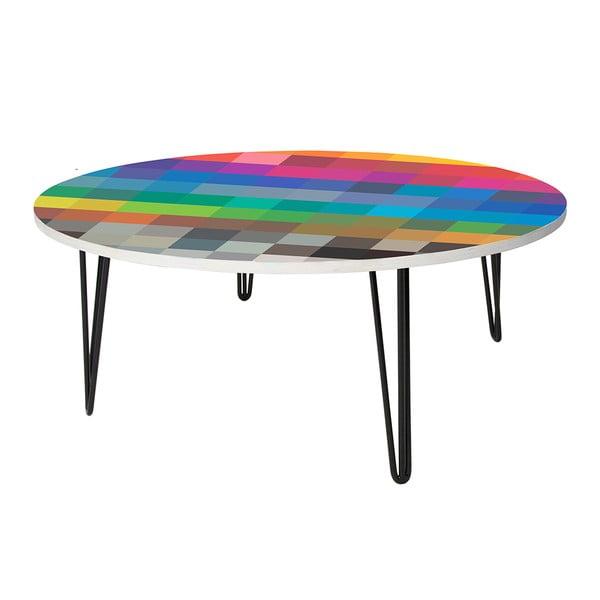 Kávový stolek Retro Squares