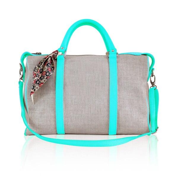 Kožená kabelka Iris Small, mentolová