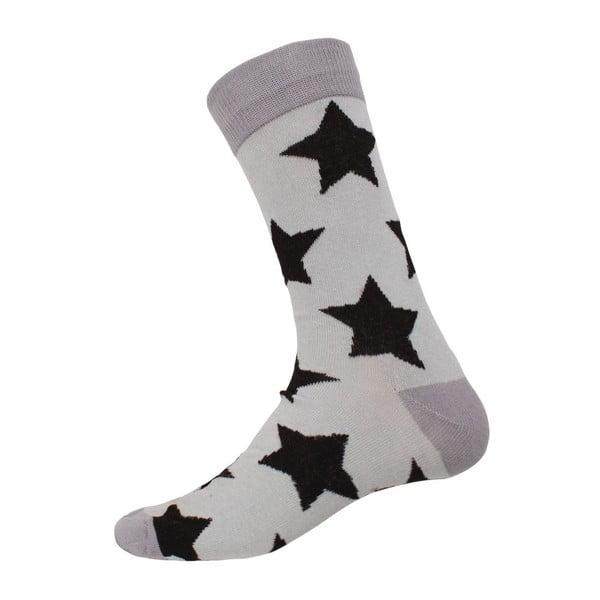 Ponožky Star Grey, velikost 40-44