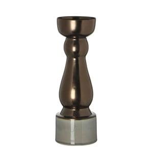 Stojan na svíčku Ida Copper, 27 cm