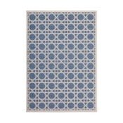 Koberec Tropical 160x230 cm, modrý