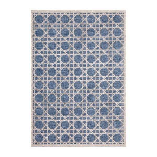 Koberec Tropical 120x170 cm, modrý