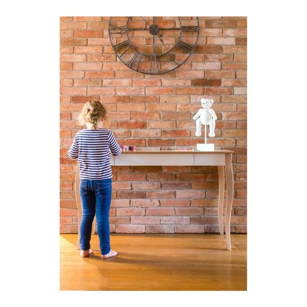 Birou Ragaba Lillo, lungime 105 cm, gri închis