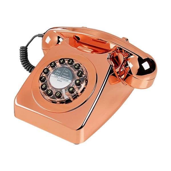 Retro funkční telefon Serie 746 Copper
